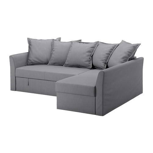 Ikea Holmsund Sofa Narożna Rozkładana Kanapa