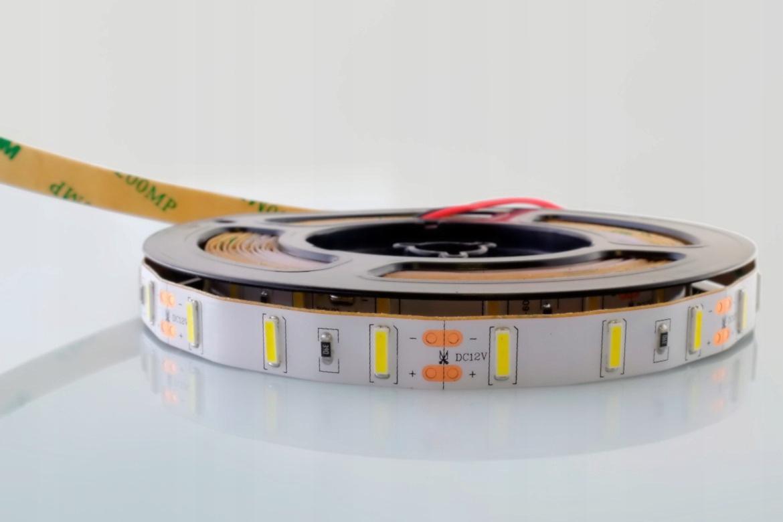 4921c843d ZESTAW Taśma 7020 2m 60LED/m SMD IP20 Korea chip (Samsung, LG, Seoul)  PREMIUM PRO 2400lm/m 20W/m elastyczna biała naturalna
