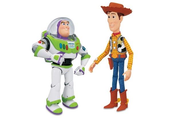 Toy Story Interaktywne Figurki Chudy Buzz Disney 7523372421 Allegro Pl