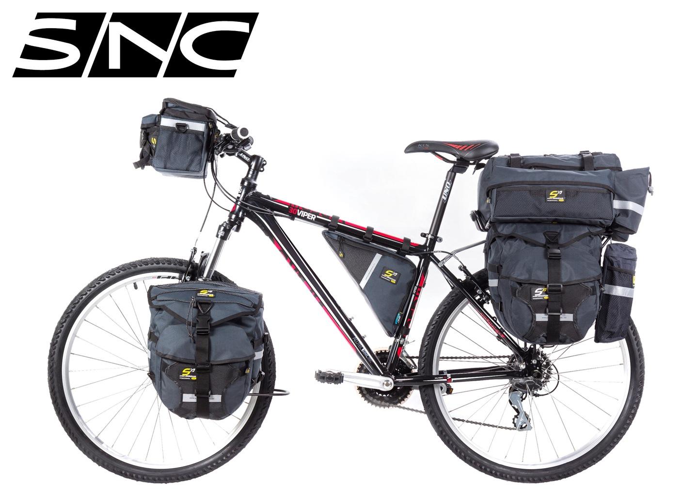 25e0e3e6000e W2B - Wrap To Bike. - Bike Packing. Lekkie sakwy zakładane bezpośrednio do  roweru