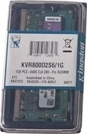 NOWA Pamięć SODIMM 1GB Kingston DDR2 KVR800D2S6/1G