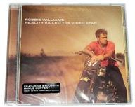 CD - ROBBIE WILLIAMS Reality Killed Video - folia