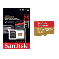 KARTA SANDISK EXTREME MICRO 64GB V30 U3 A1 100MB/s