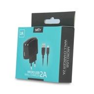 ŁADOWARKA SIECIOWA SETTY USB 2A + KABEL MICRO USB