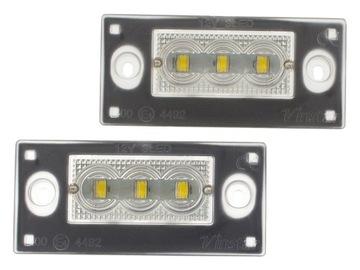 ЛАМПОЧКИ LED (СВЕТОДИОД ) ПОДСВЕТКА AUDI A4 B5 AVANT A3 8L FL