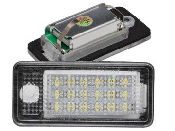 лампы led подсветка audi a3 a4 b6 b7 a6 c6 q7