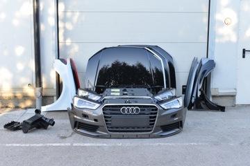 капот бампер крыло фара ремень audi a3 8v седан - фото