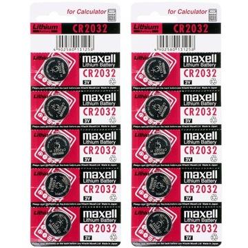 JAPOŃSKA bateria litowa MAXELL 3V CR 2032 10 sztuk доставка товаров из Польши и Allegro на русском