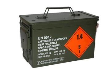 металлический ящик с боеприпасами HERMETIC NATO  доставка товаров из Польши и Allegro на русском