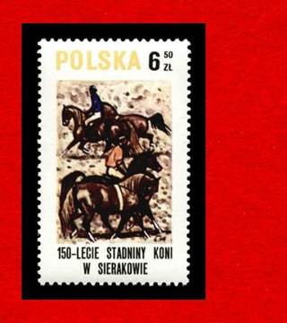 2522 зн cz** 1980 Sierakow лошади доставка товаров из Польши и Allegro на русском
