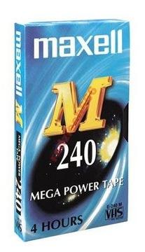 (КАССЕТА VHS MAXELL E240 240 минут) доставка товаров из Польши и Allegro на русском