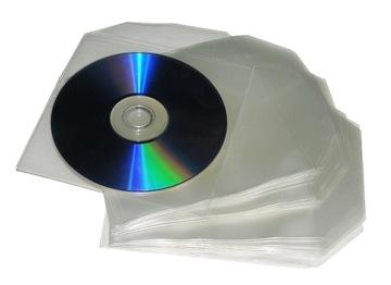 Конверты Полиэтиленовые Толстые - на CD/DVD/BDR 100 шт. доставка товаров из Польши и Allegro на русском