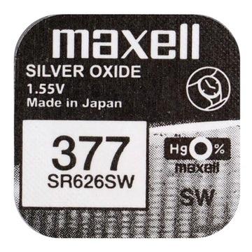 Мощная батарея srebrowa MAXELL SR 626 SW 377 66 SG4 доставка товаров из Польши и Allegro на русском