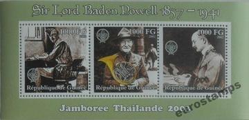 Скаутинг Баден-Пауэлл ark Гвинея 2003 ЧИСТЫЙ #M216 доставка товаров из Польши и Allegro на русском