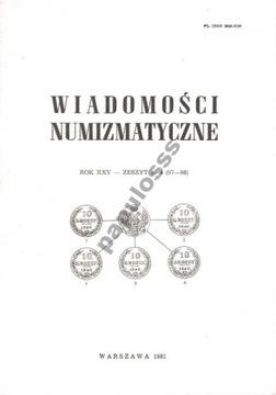 Numismatic News - 1984 - No. 1-2 доставка товаров из Польши и Allegro на русском