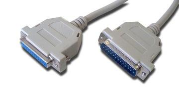 Удлинительный кабель LPT для принтера DB25 DSUB 25p 3м доставка товаров из Польши и Allegro на русском