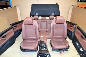 BMW F10 сиденья комфорт кожа, шторки туннель LCEZ доставка товаров из Польши и Allegro на русском