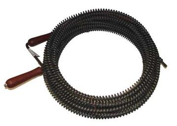 Спираль Пружина wod-kan. для труб Żmijka fi16 15м доставка товаров из Польши и Allegro на русском