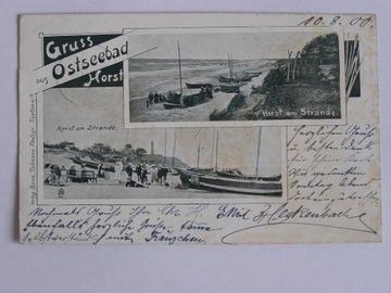 Niechorze Horst Gryfice vorlaufer secesja 1900 доставка товаров из Польши и Allegro на русском