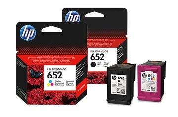 Чернила для принтеров HP 652 F6V24AE,F6V25AE Оригинал доставка товаров из Польши и Allegro на русском