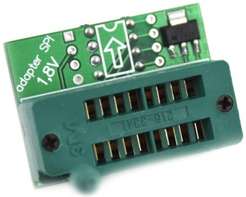 __Адаптер SN006 для программаторов TL866 SPI 1,8 V__ доставка товаров из Польши и Allegro на русском