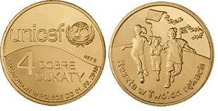 4 хорошие кремницкие UNICEF, 2010 - dukat местный доставка товаров из Польши и Allegro на русском