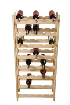Книжный шкаф, стенд на вино 40 бутылок (5x8), производитель доставка товаров из Польши и Allegro на русском