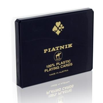 2 X ИГРАЛЬНЫЕ КАРТЫ 100% ПЛАСТИК PIATNIK СУПЕР КАЧЕСТВО доставка товаров из Польши и Allegro на русском