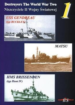 USS Gendreau / Мацу / HMS Brissenden - NIIWŚ доставка товаров из Польши и Allegro на русском