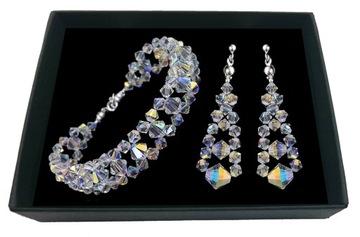 Biżuteria ślubna z kryształów SWAROVSKI 1974