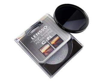 Фильтр поляризационный Lensso CPL 77mm 77 мм доставка товаров из Польши и Allegro на русском