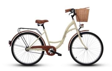 Damski rower miejski GOETZE 26 eco damka i kosz