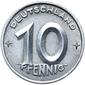 Германия DDR - монета - 10 Pfennig 1949 Года, А - БЕРЛИН доставка товаров из Польши и Allegro на русском