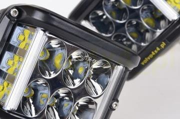 LAMPY ROBOCZE HALOGENY ZESTAW 2x 45W LED CREE 90W