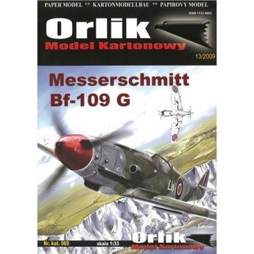 Orlik 069 - Самолет Messerschmitt Bf-109 G-14 1:33 доставка товаров из Польши и Allegro на русском