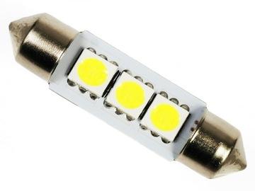 Лампа 3 LED C5W C10W SMD 5050 ТРУБКА 42 мм доставка товаров из Польши и Allegro на русском