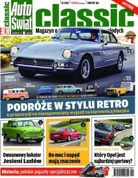 АВТО МИР CLASSIC 2/2018 журнал об автомобилях доставка товаров из Польши и Allegro на русском