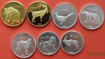 Набор из 7 монет КАРАБАХ  доставка товаров из Польши и Allegro на русском