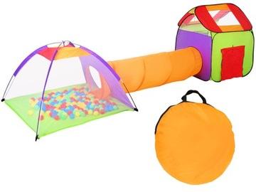 Палатка Домик, Сухой Бассейн, Тоннель для Детей 200Piłek доставка товаров из Польши и Allegro на русском