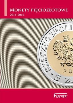 Альбом для монет 5 злотых 2014-16 НОВИНКА !!!! доставка товаров из Польши и Allegro на русском