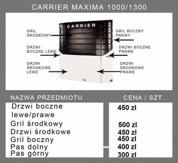 CARRIER MAXIMA 1000-1300 OBUDOWY OSŁONY