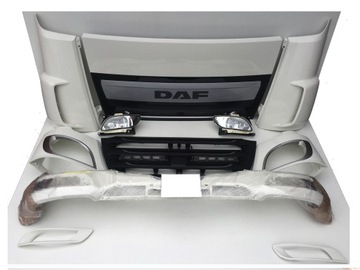 DAF XF 106 EURO6 БАМПЕР РЕШЕТКА ФАРА H3279