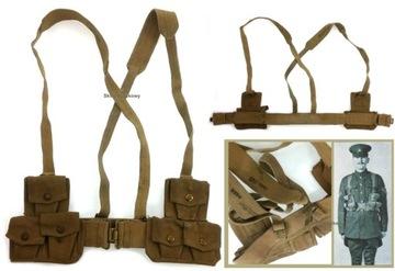 Belt + Braces + WZ.37 KHAKI DISTRÁNY SET 110CM