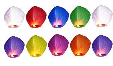 Lanterns šťastie Lanterns Svadobné Set 10 kusov