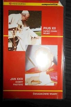 Pius XII / Jan XXIII - VHS VIDEO CAZETY