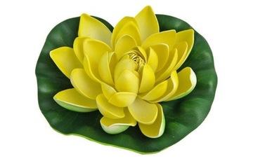 Žltý lekno do jazierka, kvet ľalie 19cm