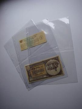 Stránky na bankovkách A4 Typ 2 NOVÉ