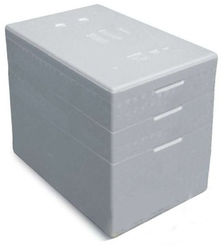 Thermobox Styrofoam Boxy s 3-krúžkami 68 l