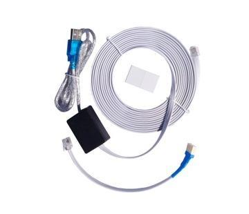 USB KÁBEL PRE SATEL INTEGRA CA10 DB9F / RJ-KPL