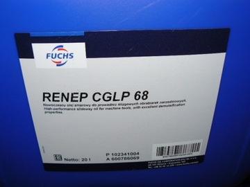 Olej na posuvnú príručku Rerep CGLP 68 20 L